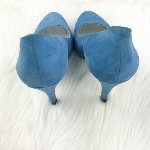 Jessica Simpson Shoes - Blue Suede Pumps